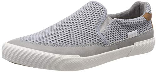 bugatti Herren 321721605900 Slip On Sneaker, Grau (Light Grey 1200), 43 EU 1200 Light