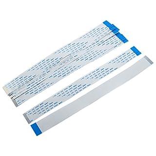 Sourcingmap® 10Stk 0,5 mm Pitch 36 Pin AWM 20624 80 60V Flexibel Flachkabel FFC FPC 200 mm de