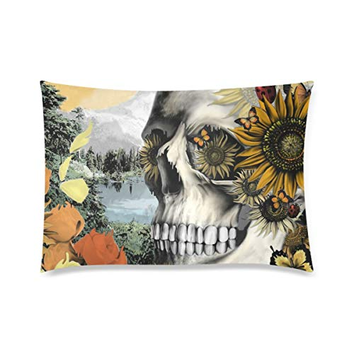 f Halloween Zippered Pillow Cases Pillow Cover 20x30 Two Side Print ()