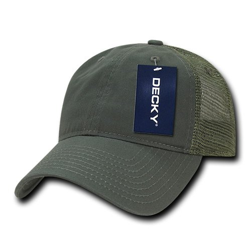 Decky 120 Soft Crown Trucker Caps
