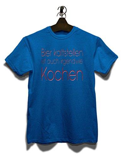 Bier Kaltstellen Ist Auch 01 T-Shirt Royal Blau