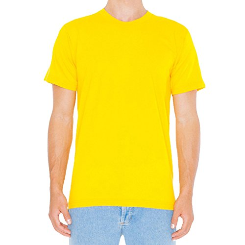 American Apparel Herren T-Shirt Gold