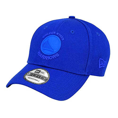 New Era NBA GOLDEN STATE WARRIORS Rubber Logo 9FORTY Cap