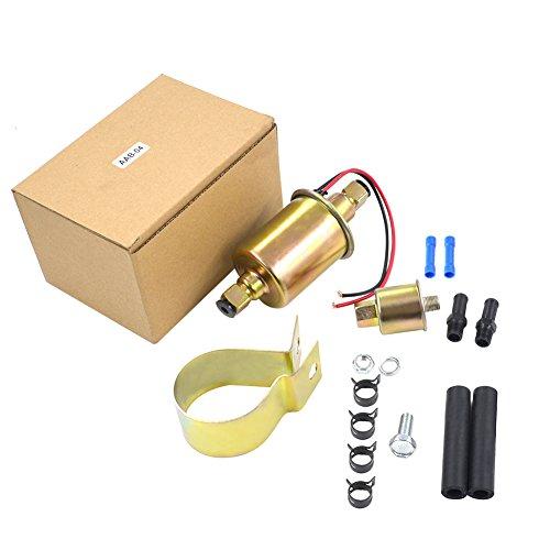 AHL 12V Kraftstoffpumpe Benzin Diesel Universal Elektrische Benzinpumpe mit Installation Kit GA8012S E8012S für Jeep -