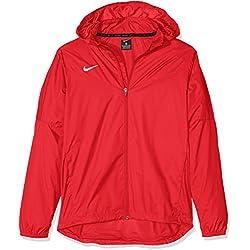 Nike Bekleidung Team Sideline Chaqueta Para La Lluvia De Niño Color Rojo Talla M