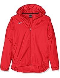 Nike Bekleidung Yth'S Team Sideline Rain Jkt Chaqueta, Niños, Rojo / Blanco (University Red / White), M