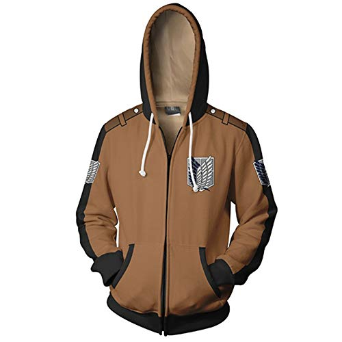 Memory meteor Attack on Titan Jacket Cosplay Jacke Costum Shingeki No Kyojin Long Sleeve Hoodies Sweater Jackets ()