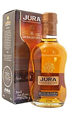 The Isle of Jura 16 Year Old Single Malt Scotch Whisky 20cl Bottle