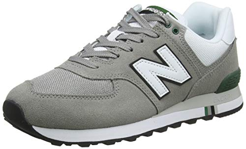 New Balance Herren 574v2 Sneaker, Grey Marblehead, 42.5 EU