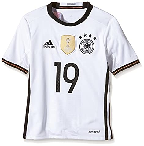 adidas Kinder Trikot DFB Home Jersey Youth Götze, white, 176,