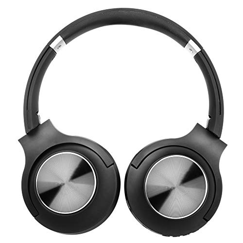 RICHVOLT Wireless Bluetooth Over Ear Stereo Foldable Noise Cancelling Headphones,Wireless and Wired Mode Headsets with Soft Protein Earmuffs,SD/TF Card Slot, Built-in Mic for Mobile Phone PC Laptop Image 9