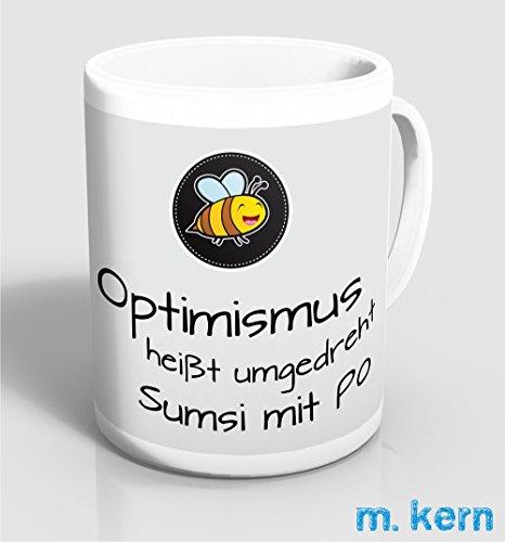 Tasse Optimismus Sumsi