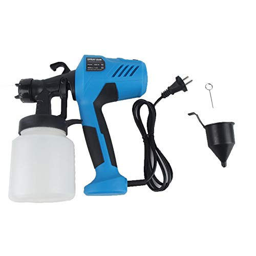Electric Paint Sprayer (400W Electric Spray Gun HVLP Paint Sprayer with Adjustable Flow Control blue)