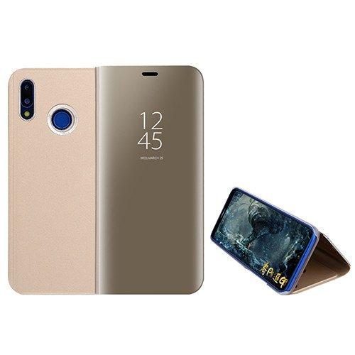 Funda® Espejo Enchapado Flip Xiaomi Mi MAX 3 (Oro)