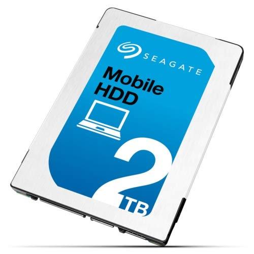 SEAGATE 2TB HDD SATA 5400rpm 6,4cm 2,5Zoll 7mm Bauhöhe 128Mb Cache BLK (Laptop Seagate)