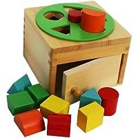 abe2d5379ef0 Toys of Wood Oxford En bois Puzzle de Formes Boîte de Tri - Jeu de tri