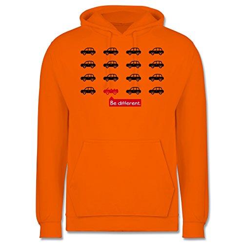 Statement Shirts - Be different. - Cabrio - Männer Premium Kapuzenpullover / Hoodie Orange