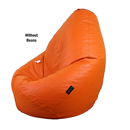 Candy Bean Bags Candy Bean Bag Cover Without Beans - XXL Size - Orange - Without Beans
