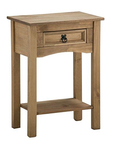 birlea-furniture-corona-mesa-auxiliar-con-un-cajon-y-tablero-madera-de-pino