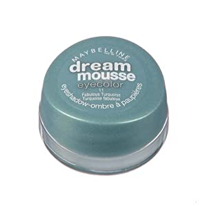 Maybelline Dream Mousse Eyecolor Eyeshadow - 11 Fabulous Turquoise