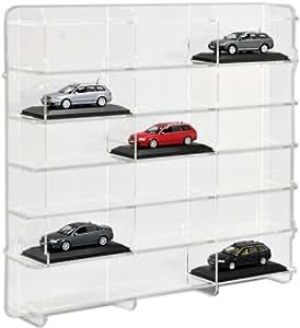 SORA vitrine de voitures 1/43 Modèle avec panneau arrière transparent