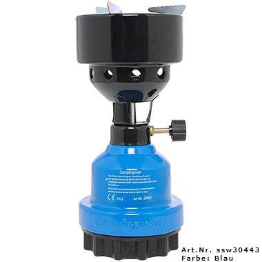 Campingman - Hornillo de gas multifuncional azul azul