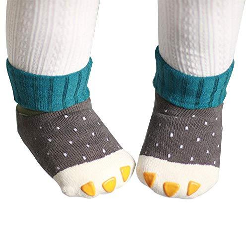 cken, Anti Slip Cartoon Krallen Baby Boot Socken & Warm Mid Tube Socken für Kleinkind Neugeborenes Baby Kinder Jungen Mädchen ()