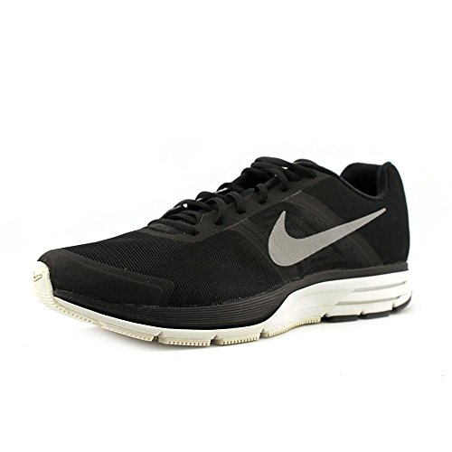 Nike, Scarpa W Air Pegasus+ 30 Shield, Sneaker, Donna Nero / Argento / Bianco / (Black / Reflect Silver-Smmt Wht)
