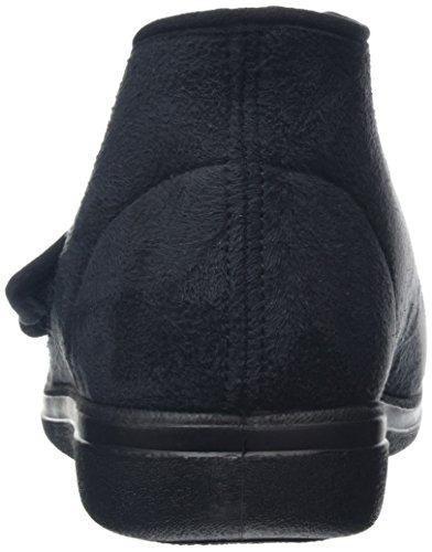 Rohde 3556, Pantofole Unisex – Adulto nero (nero)