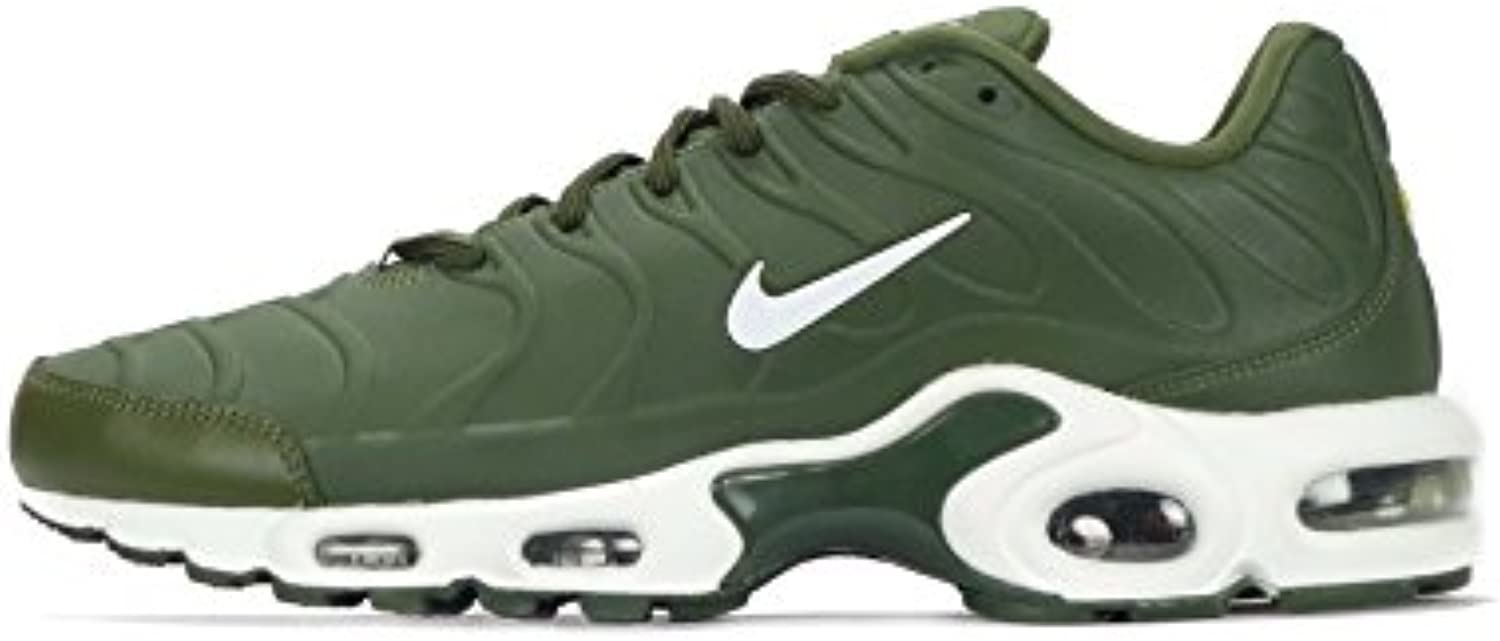 NIKE Air Max Plus VT Mens Running Trainers 505819 Sneakers Shoes (7  Legion Green White 300)