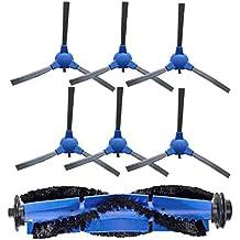 Kit Accesorios de Recambio para Cecotec Conga Excellence 1390 Robot Aspiradora, Material Premium, Pack