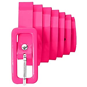 WIDMANN 01435 Neon - Cinturón para mujer, color rosa neón, talla única
