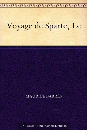 Couverture du livre Voyage de Sparte, Le