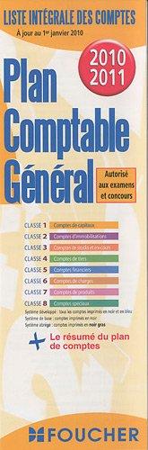 Plan comptable général par Foucher