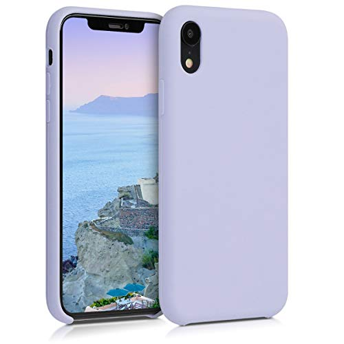 kwmobile Apple iPhone XR Hülle - Handyhülle für Apple iPhone XR - Handy Case in Pastell Lavendel