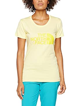 The North Face Easy, Camiseta para Mujer, Amarillo (Sunshine), X-Large (Tamaño del fabricante:XL)