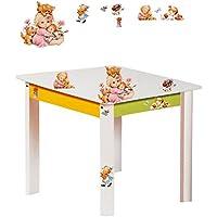 alles-meine.de GmbH Tisch für Kinder - aus Sehr stabilen Holz - Süße Kätzchen & Morehead Kinder .. - preisvergleich