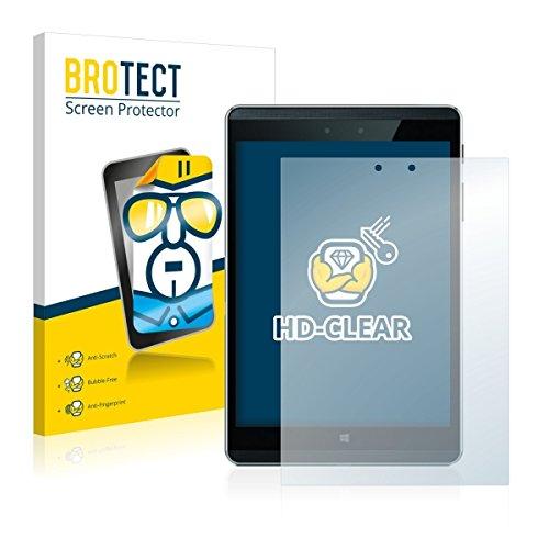 2X BROTECT HD Clear Bildschirmschutz Schutzfolie für HP Pro Tablet 608 G1 (kristallklar, extrem Kratzfest, schmutzabweisend)