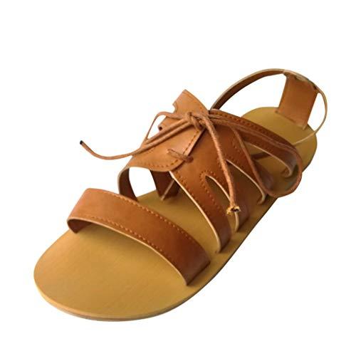 MDenker Retro-Sandalen mit flachem Boden für Damen Mode süßen Perlen Wohnungen böhmischen Zehensandalen Riemchensandalen Baker Usa-sweatshirt