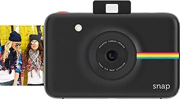 Polaroid Snap Instant Digital Camera (Black) wih ZINK Zero Ink Printing Technology