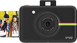 Polaroid Digitale Instant Snap Kamera (Schwarz) Mit Zink Zero Ink Technologie