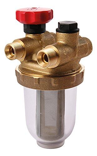 Sanitop-Wingenroth 27326 8 AV PN6-PN10, Zweistrangfilter für Heizöl, 3/8 Zoll x 8/10 mm