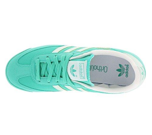 adidas Dragon J, Chaussures de Sport Garçon Turquoise - Turquesa (Menimp / Menhie / Ftwbla)