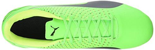 Puma Adreno Iii Fg, Chaussures de Football Homme Vert (Green Gecko-puma Black-safety Yellow 01)