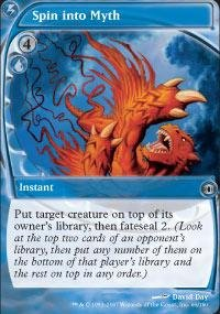 Magic the Gathering - Spin into Myth - Entrare Nella Leggenda - Future Sight
