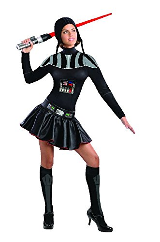 Star Wars sexy Damen Kostüm Lady Darth Vader Gr.S