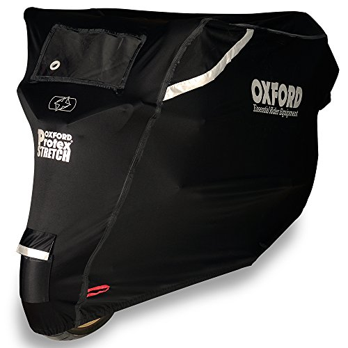 Oxford CV161 Schutz Prämie Motorradabdeckung Wetterresistent im Freien Groß