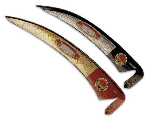 Falce due ottomani stretta in acciaio temperato