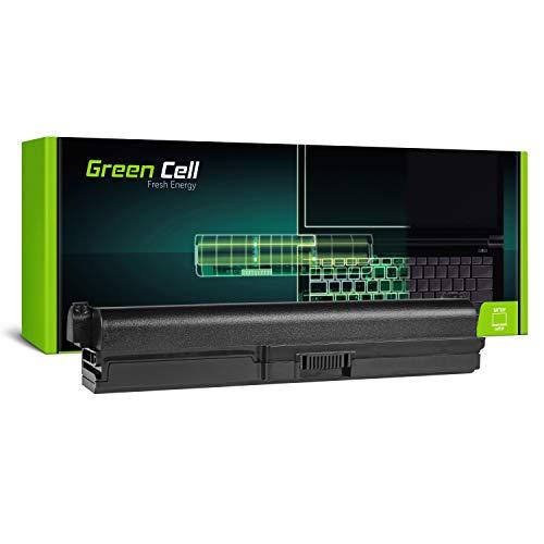 GC® Extended Serie Laptop Akku für Toshiba Satellite P775-112 P775-11E P775-11P P775-11Q P775-11R (6600mAh 10.8V Schwarz) (Toshiba Laptop Satellite P775)