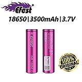 EFEST 18650 batteria per sigaretta elettronica 3500 mah